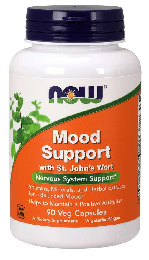 Now Mood Support 90 Veg Capsules