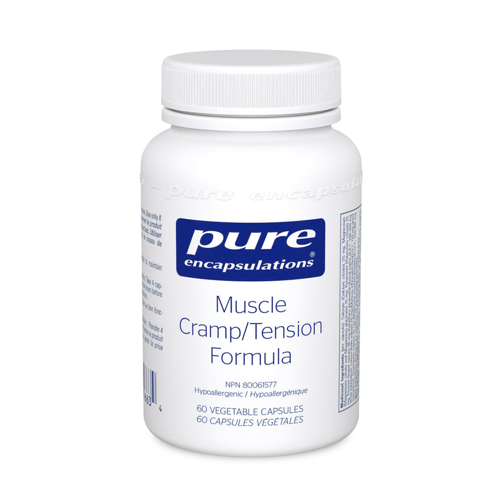 Pure Encapsulations Muscle Cramp / Tension Formula 60 v caps