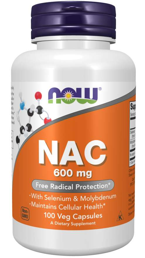 Now NAC 600mg 100 Veg Capsules