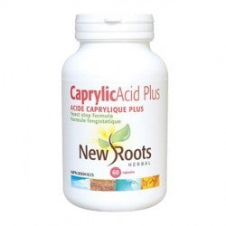 New Roots Caprylic Acid Plus 60 Caps