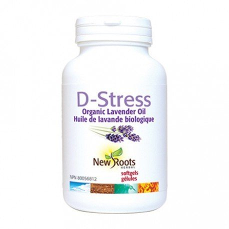 New Roots D-Stress 30 Softgels