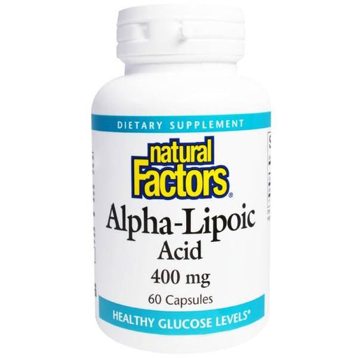 Alpha-Lipoic Acid 400mg 60 Caps