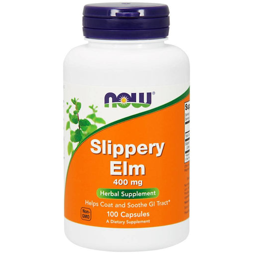 Slippery Elm 400mg 100 Caps