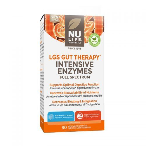 LGS Gut Therapy Intensive Enzymes 90 VCaps