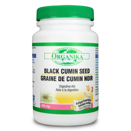 Organika Black Cumin Seed Oil 60 Softgels