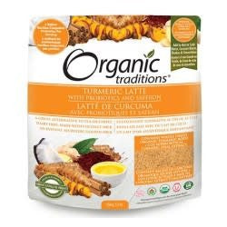 Organic Traditions Turmeric Latte with Probiotics 150g