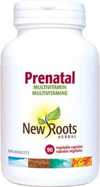 New Roots Prenatal Multivitamin 90 v capsules