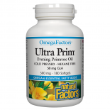 Ultra Prim Evening Primrose Oil 500mg 180 Softgels
