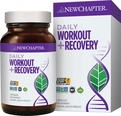 New Chapter Daily Workout + Recovery 30 Tablets