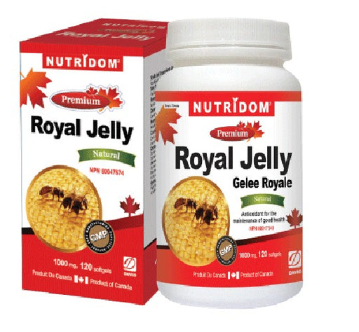 Royal Jelly 1000mg 120 Softgels
