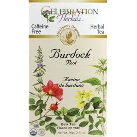 Celebration Herbals Burdock Root Tea Organic 24 Bags