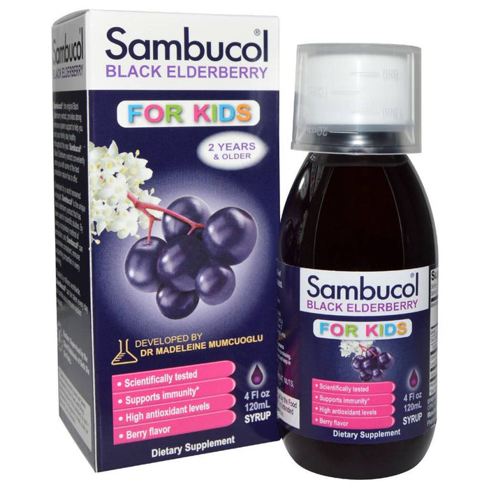 Sambucol Anti-Viral Flu Care Kids 120ml (Expiry Nov 2020)