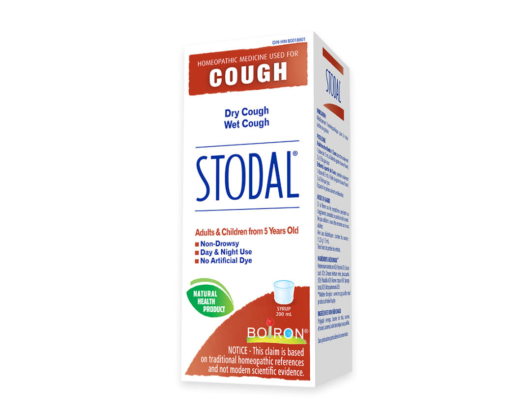 Boiron Stodal Wet or Dry Cough Syrup 200ml