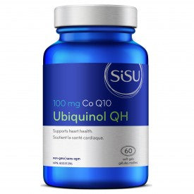 SISU Ubiquinol QH 100 mg 75 Softgels