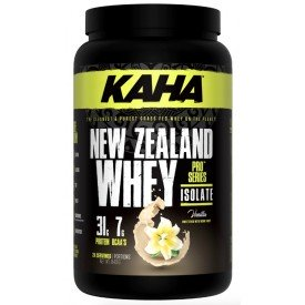 Kaha Nutrition New Zealand Whey Isolate Vanilla 840g