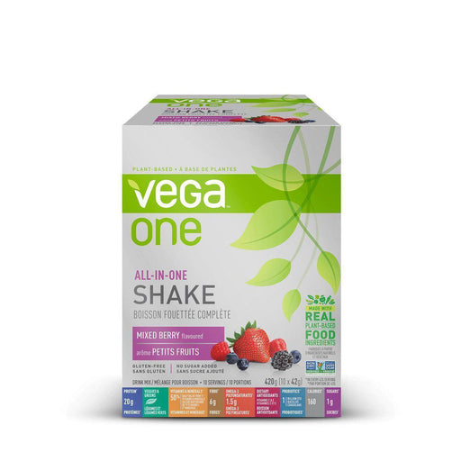 Vega One All In One Shake Berry Box of 10 x 42g  (420g)