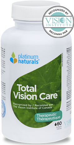 Platinum Total Vision Care 60 Softgels