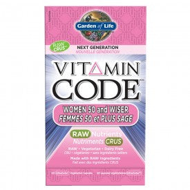 Vitamin Code Women 50 & Wiser 60 Vegetable Capsules