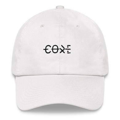 White dad baseball streetwear cap fashion