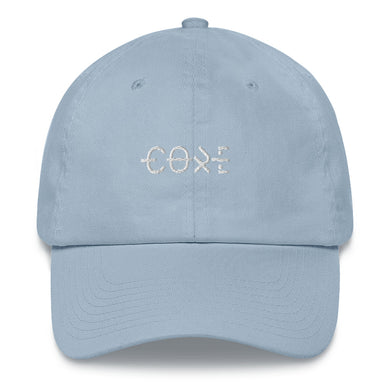Light blue dad baseball streetwear cap fashion