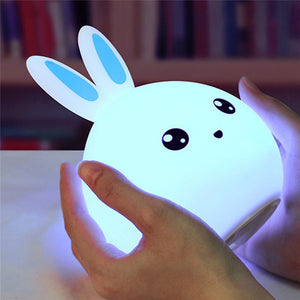 Novelty Lovely Water Droplets Face Night Light Mini LED Lamp Bulb