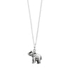 ELEPHANT NECKLACE IN 925 SILVER