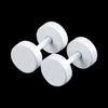 WHITE ROUND SCREW STAINLESS STEEL STUDS