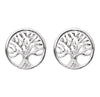 TREE OF LIFE STUDS IN 925 SILVER