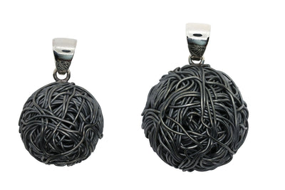 TANGLY 925 SILVER OXIDISED PENDANT