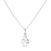 CHILDREN ANGEL NECKLACE IN 925 SILVER
