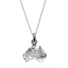 AUSTRALIA NECKLACE IN 925 SILVER