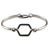 BRACELET IN  925 SILVER (HEXAGON)