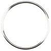 SOLID ROUND BANGLE IN 925 SILVER
