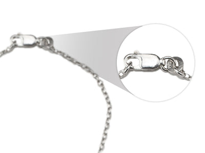 BRACELET IN 925 SILVER (Round Long Oval)