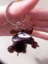 Keyring 'Chocolate Dog'