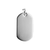 SMALL DOG TAG & 70CM STAINLESS STEEL NECKLACE
