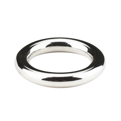 DONUT RING IN 925 SILVER