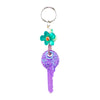 Keyring 'Purple Key'