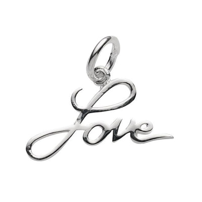 LOVE PENDANT IN 925 SILVER