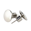 STAINLESS STEEL PLAIN POLISHED EARRINGS
