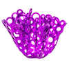 PURPLE ACRYLIC SCULPTURE