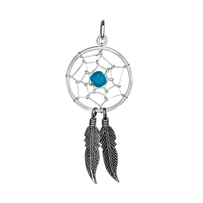 PENDANT DREAM CATCHER IN 925 SILVER