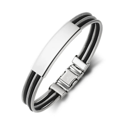 10MM STAINLESS STEEL BANGLE