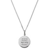 YOU ARE MY SUNSHINE MY ONLY SUNSHINE NECKLACE IN 925 SILVER