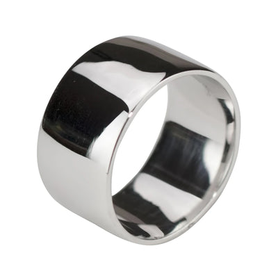 WIDE (11MM) 925 SILVER RING
