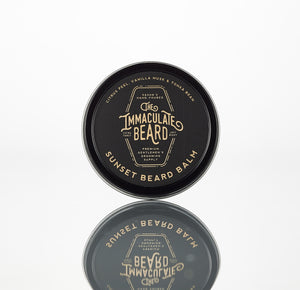 the immaculate beard conditioner balm