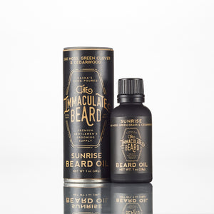 Conditioning Natural Beard Oil | The Immaculate Beard