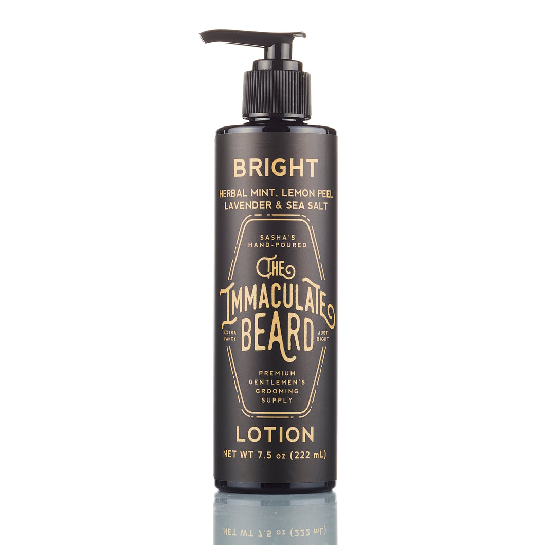 Immaculate body lotion bright