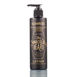 Immaculate body lotion sunrise