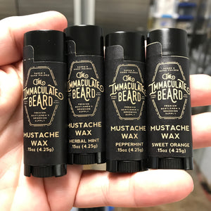 free mustache wax sample